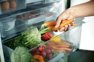Vitafresh lade gevuld met groente